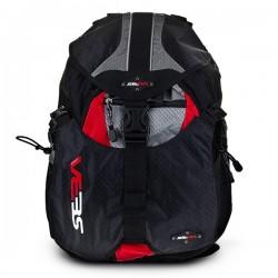 SEBA Backpack Small Grey/Red