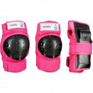 Защита детская для роликов Oxelo pink