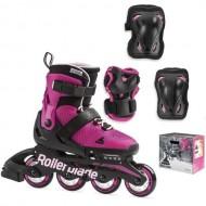 Детские ролики Rollerblade Microblade Combo G Pink