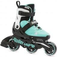 Ролики Rollerblade Microblade 3WD G Aqua White