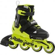 Ролики Rollerblade Microblade Neon Yellow 2021