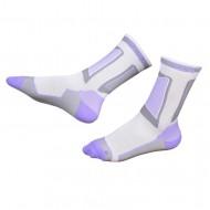Носки для роликов Rollerclub white/lilac