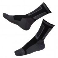 Носки для роликов Rollerclub black/dark grey