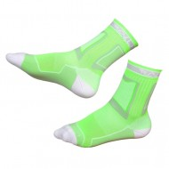Носки для роликов Rollerclub neon green/white