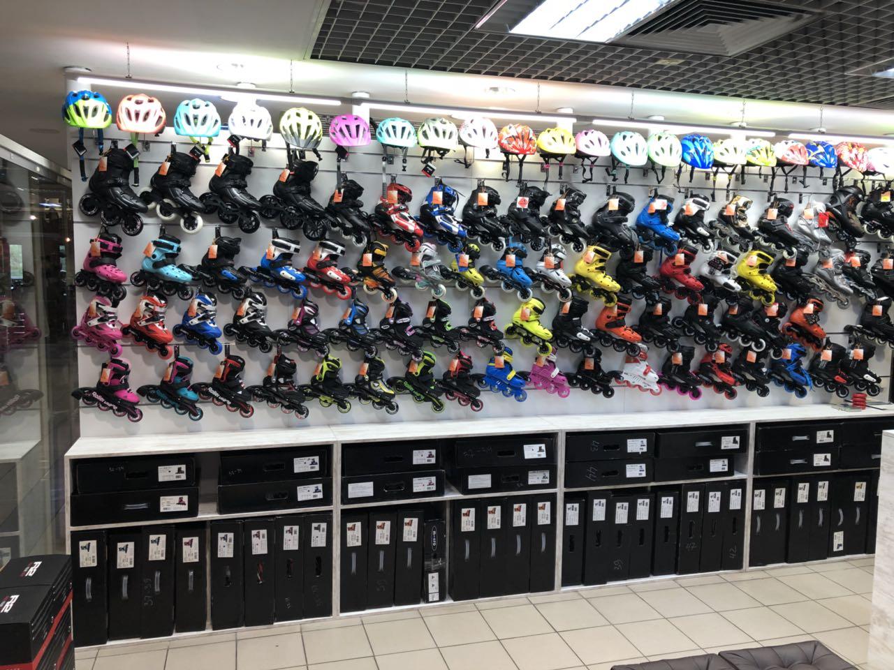 Магазин роликов метро Оболонь Rollerclub shop